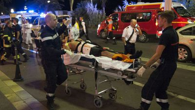Latest figures show at least 80 people have died, and 18 are in a critical condition. (AFP)