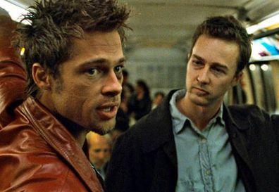 Brad Pitt, Edward Norton, Fight Club