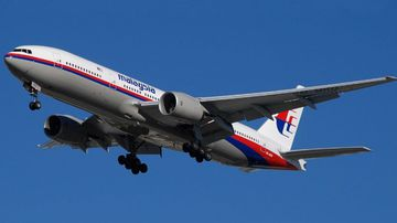 File picture of a Malaysia Airlines plane, similar to MH370.