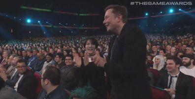 Elon Musk, Grimes, The Game Awards