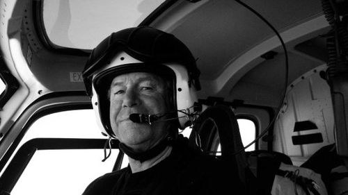 Captain Wood in Antarctica, 2015. (davidwarburtonwood.com)