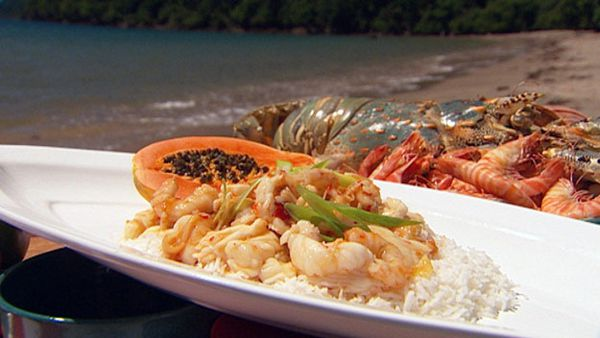 Millie's sticky sweet chilli seafood