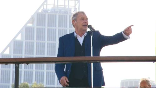 John Farnham was one of the big-name performers.