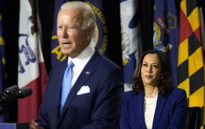 Joe Biden introduces new running mate at Democrat event