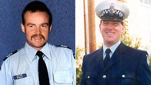 Sergeant Gary Silk and Senior Constable Rodney Miller were shot dead.