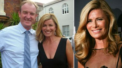 Deborah Hutton's ex charged with stalking after 'staging break-in'
