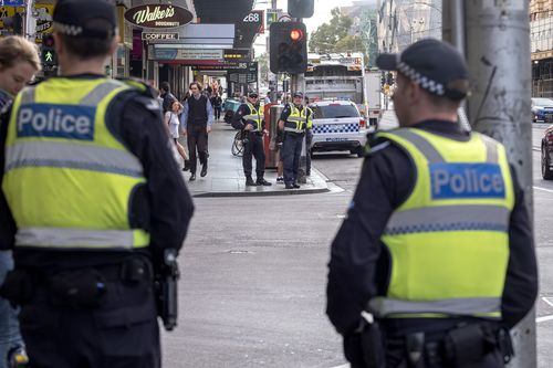 $41 million will also be spent on securing Melbourne's CBD. (AAP)