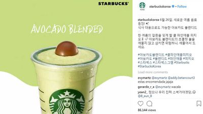 Avocado frappuccino is here to make waves