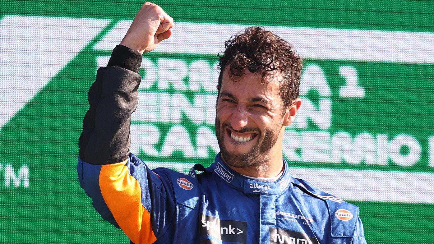 Italian Grand Prix victory 'as good as any' in my career, Australian Daniel Ricciardo says