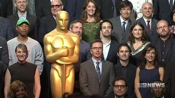 Nominees gather for Academy Awards luncheon