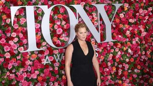 "Amy Schumer introduced a performance by the cast of ""My Fair Lady"". Picture: AP"