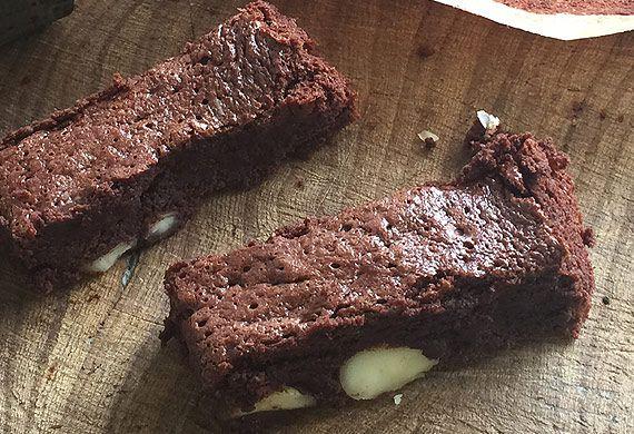 Willie Harcourt-Cooze's flourless macadamia nut brownies