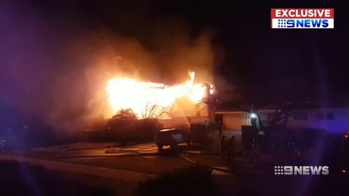 Mr Blazic believes if the family had been asleep, the fire could have been deadly and wants other families to practice their fire escape plan.