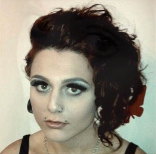 Evie Amati is accused of the axe attack at the 7-Eleven store in Enmore last year. Picture: Supplied