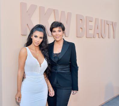 Kim Kardashian, Kris Jenner, beauty launch