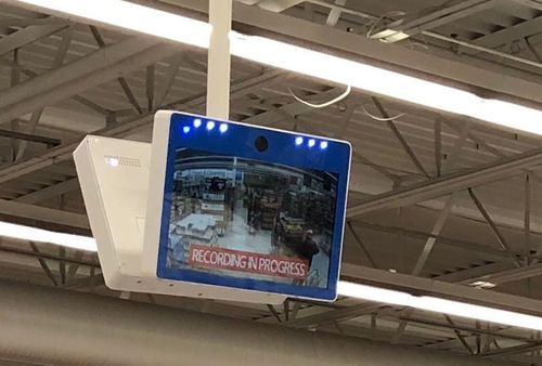 Walmart in America has placed security cameras in the baby formula aisle. (Twitter)