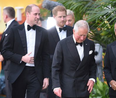 Prince Charles and Prince William attend event in London