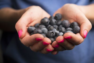 <strong>Snack on some blueberries</strong>