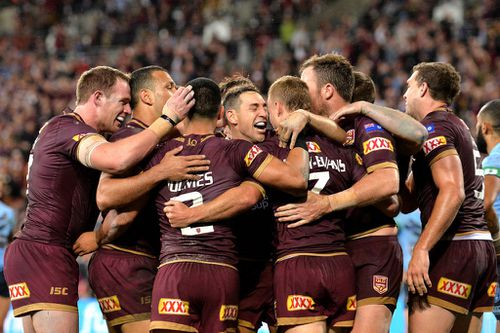 The win adds to the State of Origin story that has been since 2009, with the Maroons near-unbeatable in front of a hometown crowd. Picture: AAP.