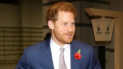 Harry travelled to Japan for the Rugby World Cup final.