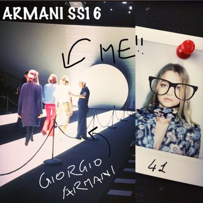 Giorgio Armani, Milan Fashion Week