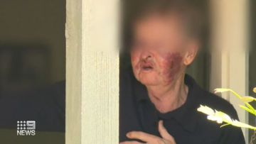 Police search underway after elderly man allegedly assaulted