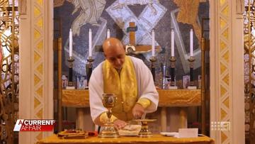 Greek Orthodox suspends masses following communion chalice refusal