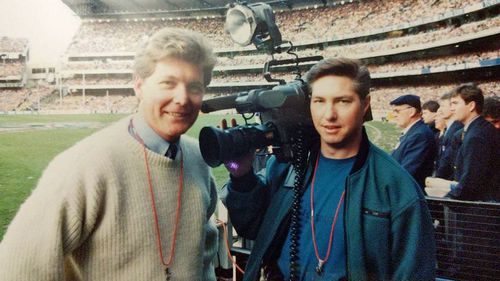 Covering West Coast Eagles historic 1992 Grand Final.