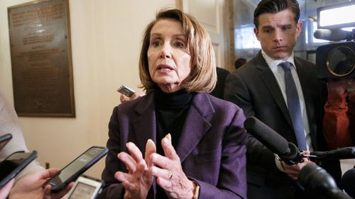 House Speaker Nancy Pelosi has cancelled her plans to travel by commercial plane to visit US troops in Afghanistan, saying President Donald Trump had caused a security risk by talking about the trip.