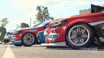 VIDEO: V8 supercars roll into Ipswich
