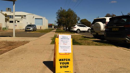 Cases have been detected in sewage in Brewarrina.