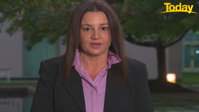 Senator Lambie has called on the women within the Liberal Party to show 'solidarity' with those who have had negative experiences in the workplace.