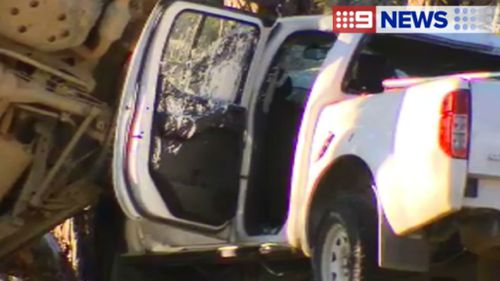 Both male drivers died at the scene. (9NEWS)