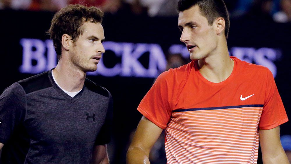 Murray springs to Tomic's defence