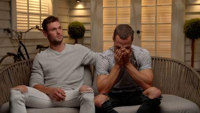 Luke breaks down in tears after the body corporate meeting gets personal