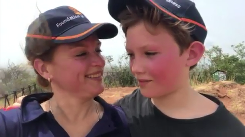 Jack's mum, Bonnie, is using her grief to advocate for road safety.