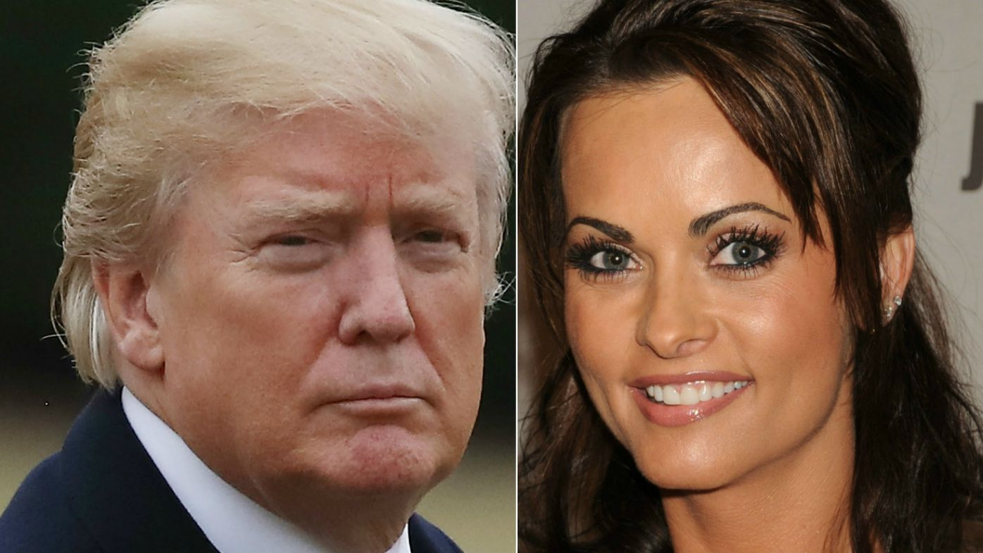 Trump had 9-month extramarital affair with former Playboy model