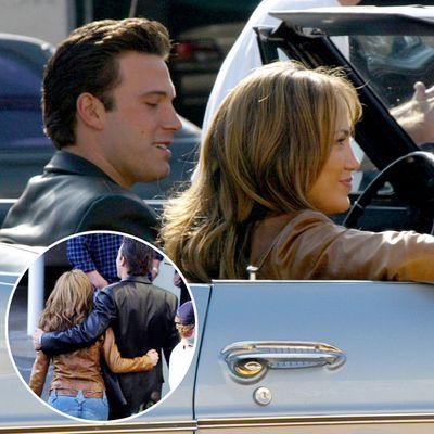 Jennifer Lopez and Ben Affleck: July 2002