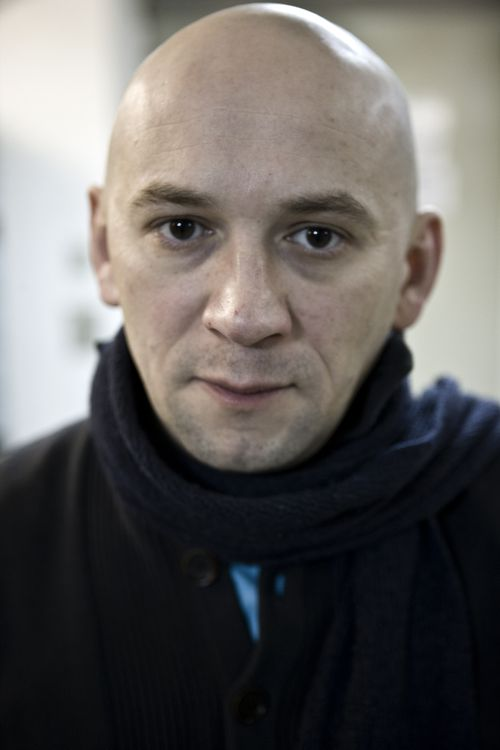 Russian documentary filmmaker Alexander Rastorguyev poses for a photo in Moscow, Russia