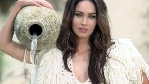 Megan Fox plays a cloned cave girl in Brazilian commercial