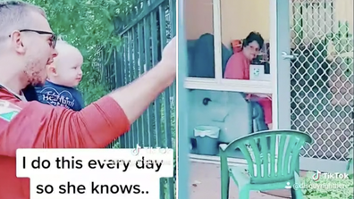 The heartwarming video has gone viral.
