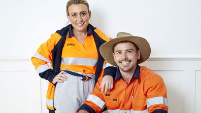 Kirsty and Jesse The Block 2021.