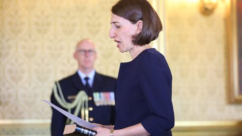 'I'm here to govern for everyone': Gladys Berejiklian sworn in