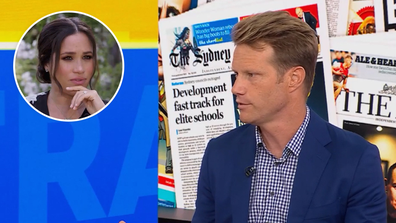 Tom Tilley comments on Meghan Markle Oprah interview ahead of airing on Monday