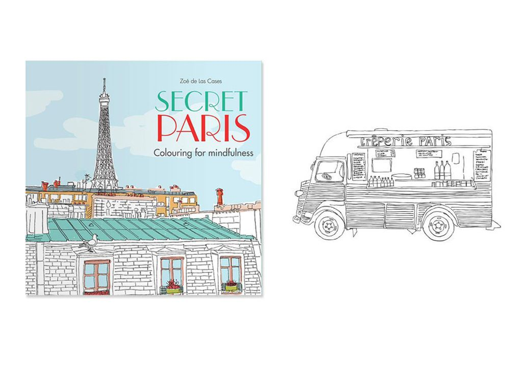 Secret Paris Colouring For Mindfulness 10