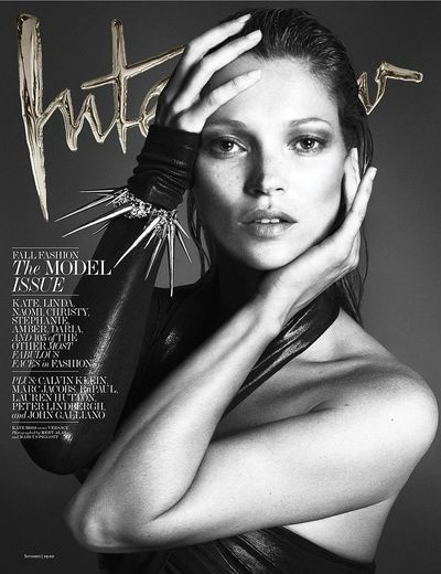 Kate Moss,<em> Interview</em> Magazine September 2013