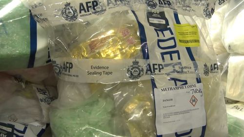 Police have seized more than $1 billion worth of ice in Melbourne.