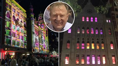 9NEWS presenter Peter Hitchener's White Night adventure