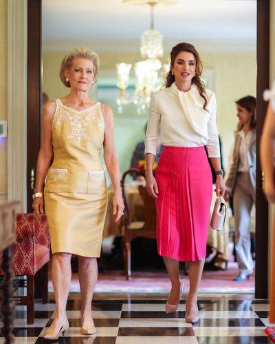Queen Rania of Jordan in the US, July 2021