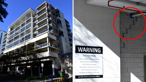 190617 Mascot Towers cracks building conerns Sydney NSW SPLIT